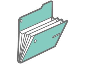 3ポケットファイル